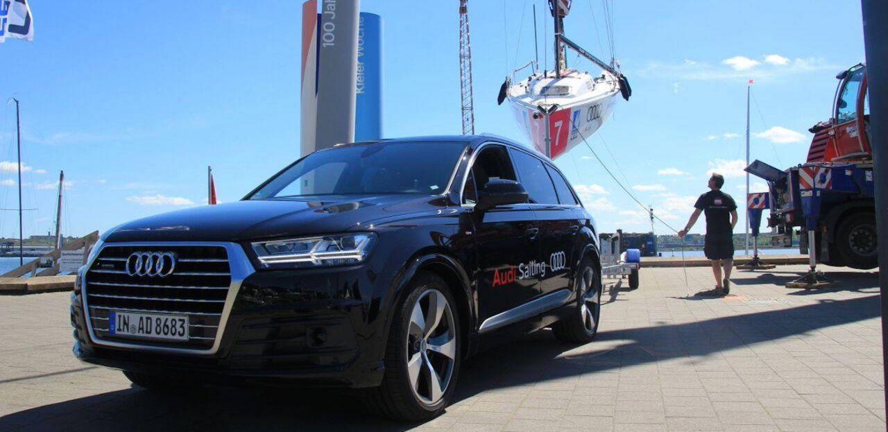 Audi auch 2016 Partner der Deutschen Segel-Bundesliga