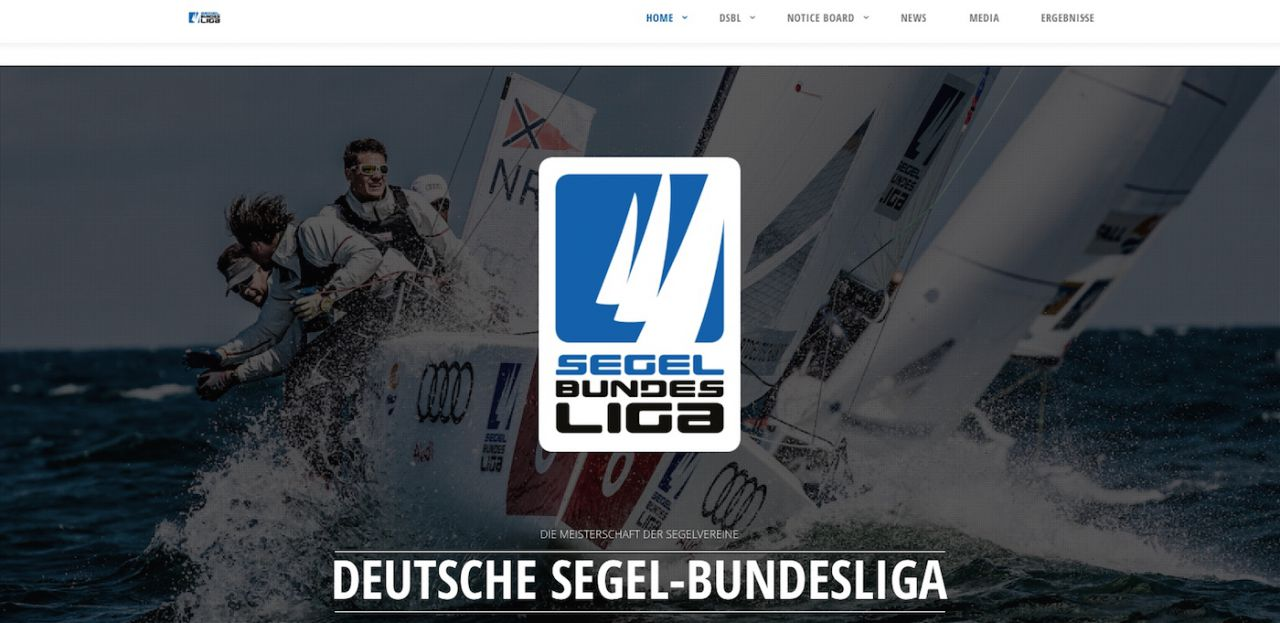 Deutsche Segel-Bundesliga ab sofort im neuen Design