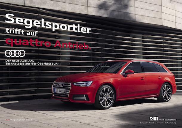Audi verlängert Sonderaktion im Segelsport