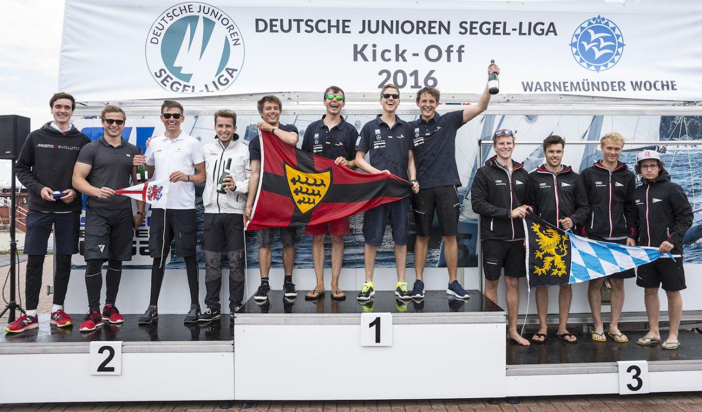 """In den Fußstapfen der """"Großen""""! Voller Erfolg für das Junioren Segel-Liga Event in Warnemünde"""