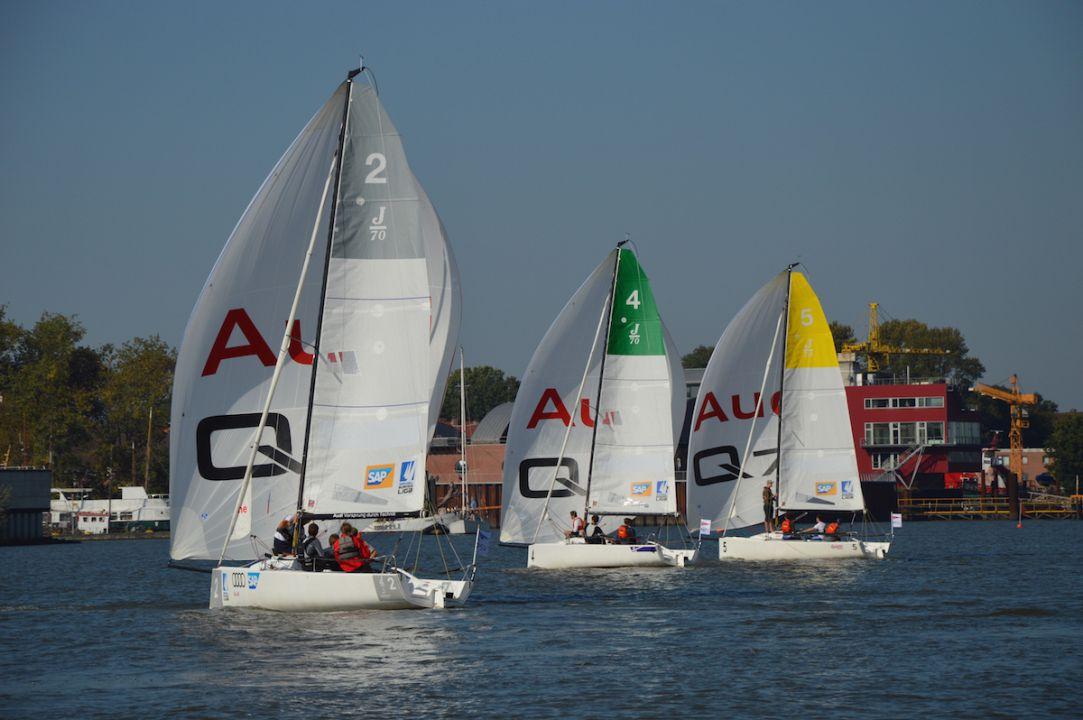 Gelungenes Event der Junioren Segel-Liga in Hamburg