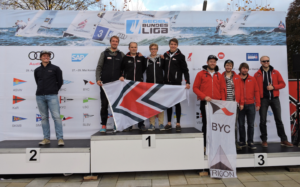 Lübecker Yacht-Club gewinnt Relegation in Hamburg