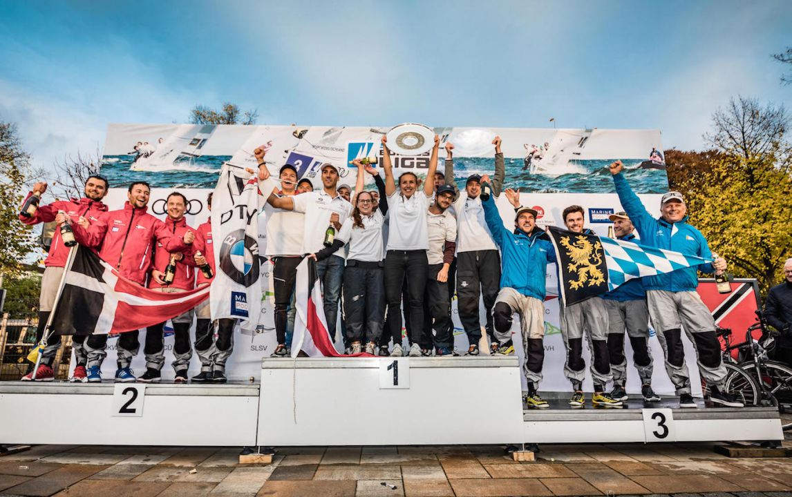 Deutscher Touring Yacht-Club holt mit Meistertitel das Double