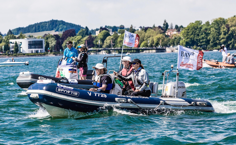 World Sailing International Umpires Seminar in Lindau: Schiedsrichter lernen bei der Bundesliga