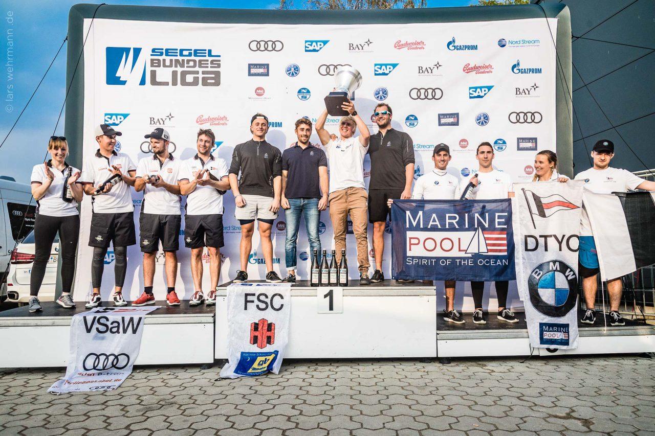 Flensburger Segel-Club gewinnt DSL-Pokal auf Heimatrevier