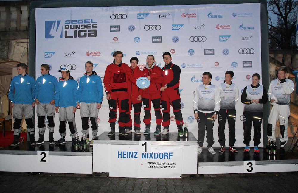 Berliner Yacht-Club gewinnt Meistertitel der Junioren