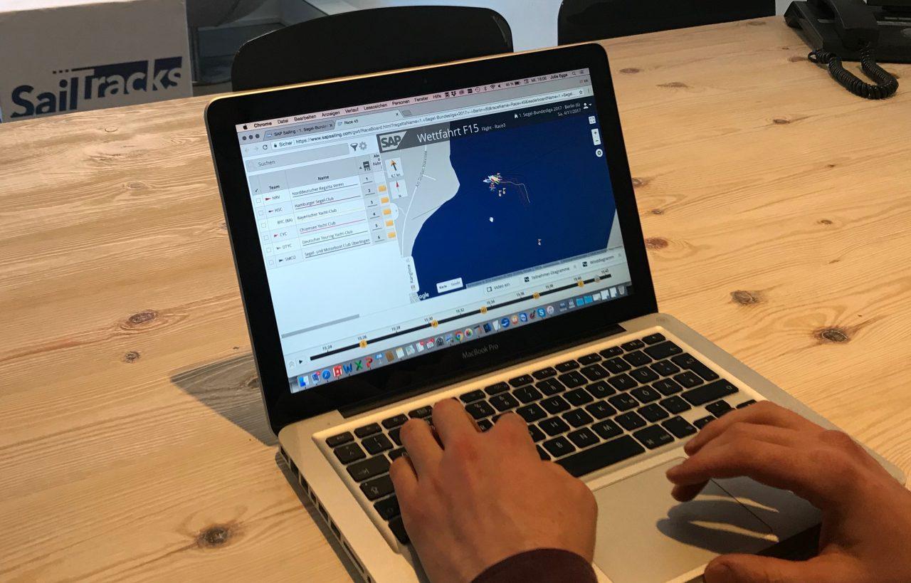 "SAP Sailing Analytics: ""Tracking-Nachwuchs"" in Hamburg ausgebildet"